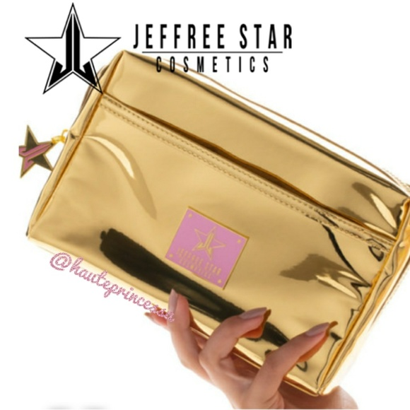 Jeffree Star Handbags - 🔺BOGO 1/2 OFF🔺Jeffree Star Gold Reflective Bag